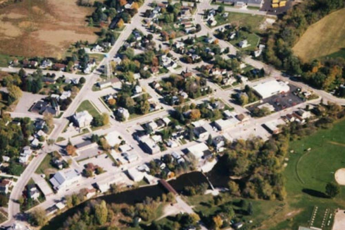 Aerial view